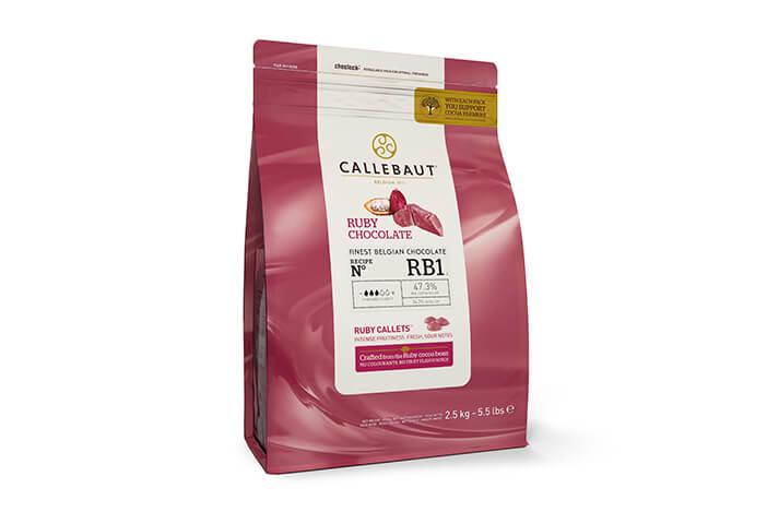 Ruby chega ao Brasil através da marca Barry Callebaut